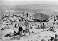 ogunquit beach by agnes anne abbot