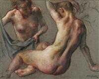 two nudes by robert brackman