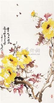 国色天香(黄) by liu yuanfa