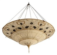 chandelier by fortuny