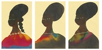 untitled (3 works) by chris ofili