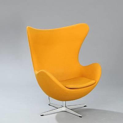 the egg chair model 3316 by arne jacobsen