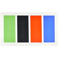 four panels by ellsworth kelly