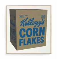 andy warhol, kellogg's corn flakes box, 1964, #2 by richard pettibone