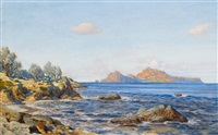 blick auf capri by max roeder