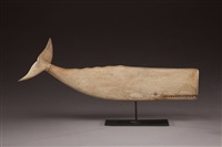 whale weathervane by mark mcnair