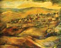 jerusalem by isidor aschheim