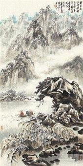 寒江独钓 by xiao ping