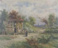 le chemin de molonpèse/auvergne by henri langerock