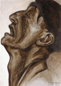 l'homme qui boit (study for) by félix del marle