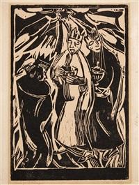 die heiligen drei könige by christian rohlfs