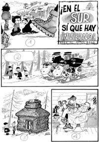 en el sur si que hay invierno (for rico tipo) by quino
