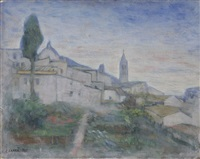 assisi by carlo carrà