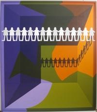 arrangement no. 4/paper people by leonard everett fisher