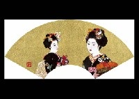 two maiko by kunio komatsuzaki