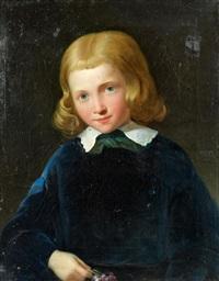 porträt eines knaben by giovanni marghinotti