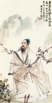 陶渊明像 by xiao ping