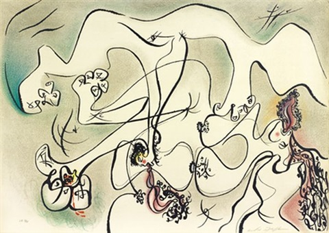 lamour dans les ruines compositions érotiquesc 8 works by andré masson