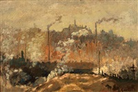 industrial landscape by gustave f. goetsch