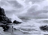 as the storm clears by john pike