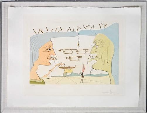 Le telegraphe wireless by Salvador Dalí on artnet
