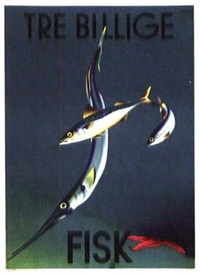 tre billige fisk by andré ras