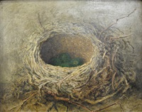 bird's nest (+ another; pair) by albert durer lucas