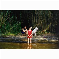 the princess of the creek/(ii) julie and arantxa i (2 works) by emmanuelle antille