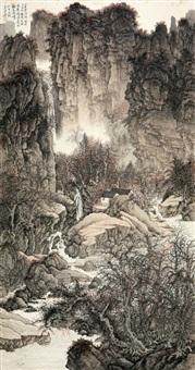 太行秋色 (landscape) by liu yanshui