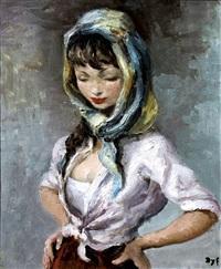 la jeune gitane by marcel dyf