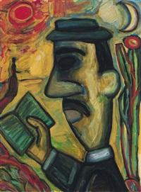 dichter (study of rilke) by nuria quevedo