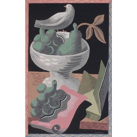 still life by gino severini
