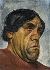 porträt eines schauspielers by albert birkle
