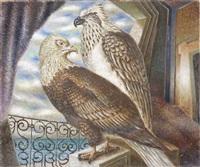 gardiens du port o gardiens d'étoiles by alberto savinio