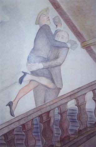 la poursuite dans lescalier by pierre klossowski