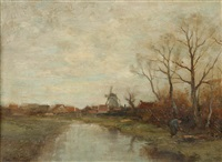 november day holland by charles paul gruppe