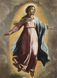 die unbefleckte jungfrau maria by francesco (da gubbio) allegrini