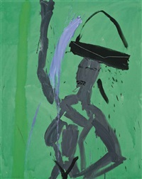 page three girl by bruce mclean
