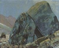 blaue steine von mattmark by alfred glaus