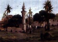environs du caire by léon adolphe legendre