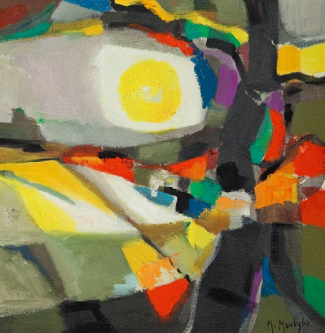 composition abstraite by marcel mouly