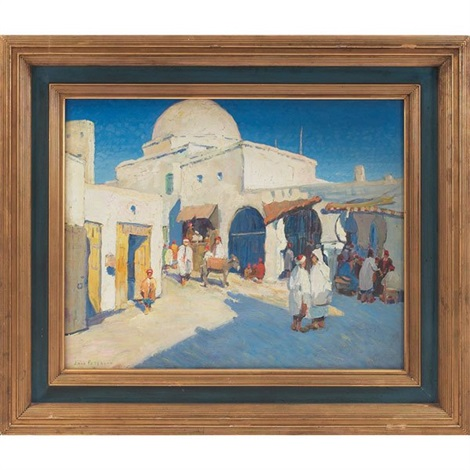 moroccan market by jane peterson