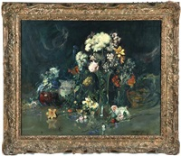floral still life by alfred macdonald