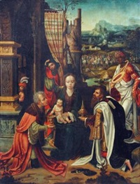 the adoration of the magi by marcellus coffermans