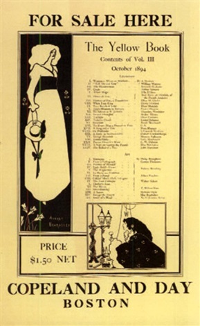 the yellow book vol iii by aubrey vincent beardsley