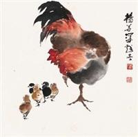 教子图 by yang shanshen