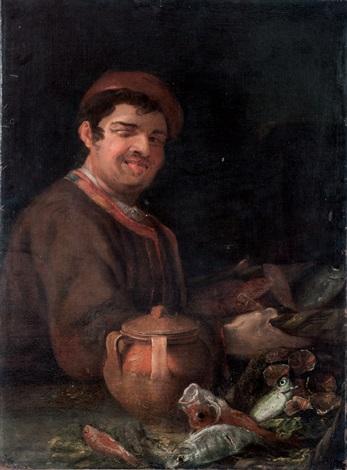 il pescivendolo by luca giordano