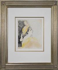 la goires des bronte, 1930 by marie laurencin