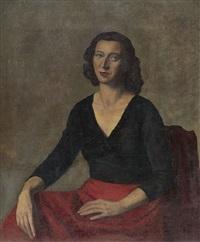 ritratto della baronessa ricciarda palminteri by marcello tommasi