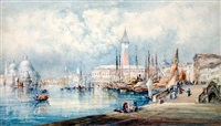 the grand canal, venice by mary weatherill